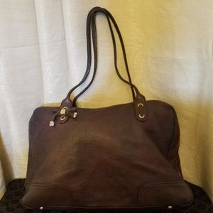 Gucci Guccissima Large Leather Princy Tote